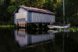 Boat House on Trout Creek