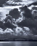 Hart Bridge with Clouds