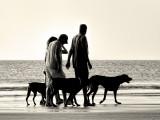 Beach Silhouette #2