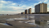 Jacksonville Beach at Low Tide