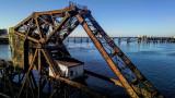 Railroad Bridge Is Down