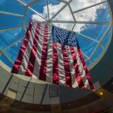 Glass Sky and Flag