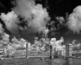 Main Street Bridge with Clouds BW.jpg
