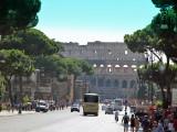 Glimpse of the Colosseum