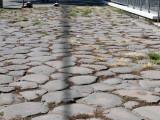 We walking on over 2,000 year old walkways.