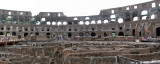 Panorama view of Colosseum