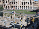 Working next to the Colosseum