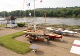 Thames sur Seine, au Yacht Club de l'Ile de France