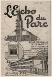 L'Echo du Parc - 1935
