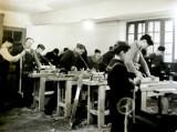 1950- Atelier de menuiserie dans l'annexe Potin