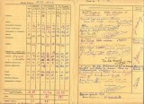 Bulletin scolaire 1953