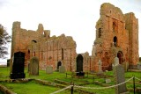 The Ruins Of Lindisfarne Priory