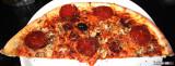 Two Sausage & Mushroom Pizza