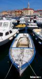 Boat in Rovinj Harbor