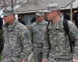Maj. Gen. Michael Wehr headed to opening of Spillway  January 10 2016