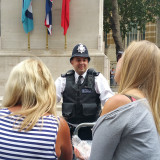 Constable Wilson on duty