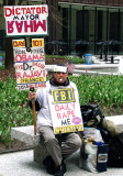 A Man With a Sign