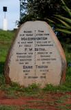 The Memorial Stone to Danie Theron