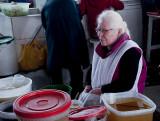 An Albino Chicha Vendor