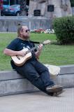 Playing Guitar in Miraflores