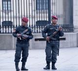 Plaza de Armas: Guarding The Presidential Palace