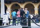 Plaza de Armas: Tourists