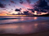 Last light at the beach _ by Dennis