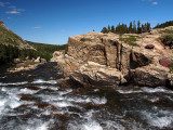 Swift Current Creek, Many Glacier, Montana-Shirley