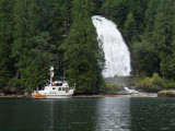 Chatterbox Falls - Princess Louisa Inlet, BC by Mike-PDX