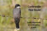 Conférencier Réal Boulet, sujets à venir