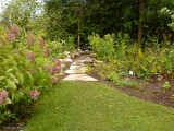 New path in the Backyard Garden