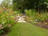 New path in the Backyard Garden