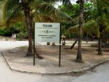 Entrance to the Tulum Ruins