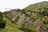 Vulcanisch landschap, gipskraters