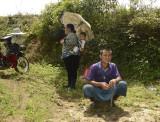 Lisu hilltribe members
