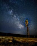 Windmill & stars