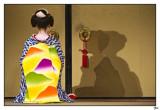 Geisha (Color y ByN - Colour and B&W) - KYOTO -