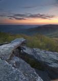 Rocks On Bald Knob: Giles County