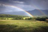 Dual Rainbows Over Cades Cove
