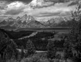 Snake River Overlook- Tetons, Wyoming