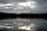 Evening At Echo Lake
