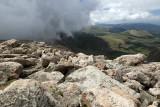 Incoming Fog On Mount Evans