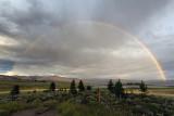 Rainbow Over Grand Lake And Shadow Lake
