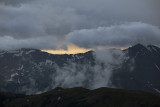 A Stormy Sunset From Trail Ridge Road: RMNP