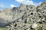 Rock Fields And Cliffs On Mt. Evans