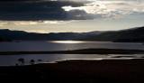 Setting Sun On Lake Granby