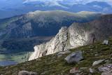 Light Patterns On Mt. Evans