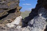 A Rock Window Frame On Trail Ridge Road