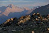 Cast Shadows On Longs Peak