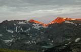 First Light On The Peaks-RMNP